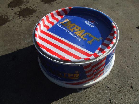 フィアット500 洗車 シュアラスターのワックス(カルナバロウ)