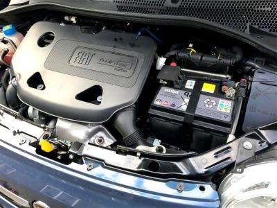 フィアット500バッテリー交換|純正バッテリー EXSIDE