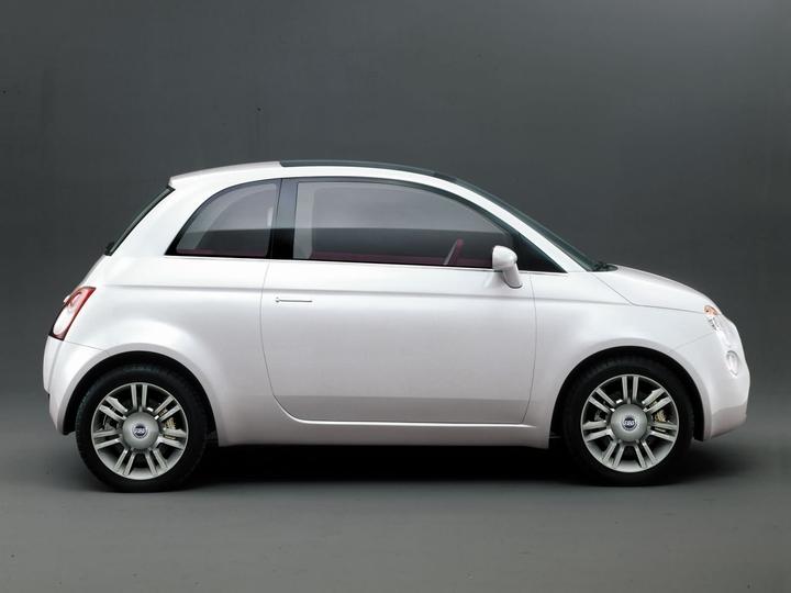 トレピウーノ FIAT Trepiuno|フィアット500の母体となったコンセプトカー2004