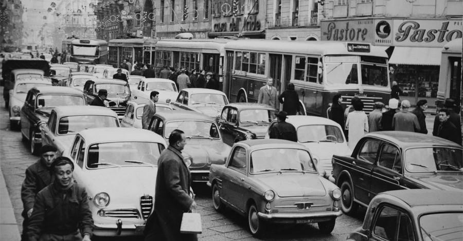 戦後のイタリアのクルマ事情