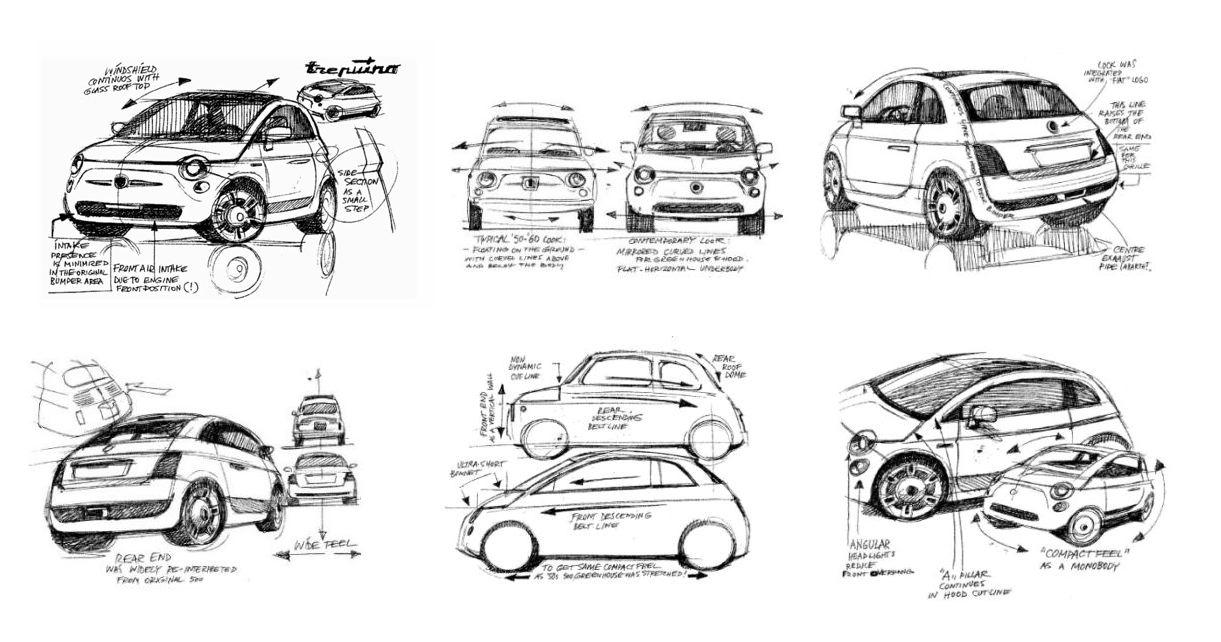 トレピウーノ FIAT Trepiuno|ロベルト・ジョリートによるデザイン