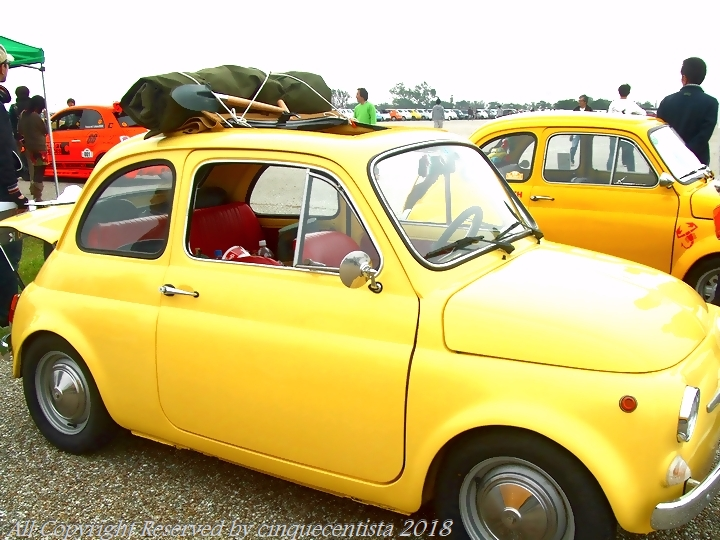 フィアット&アバルトミーティング|FIAT500F ルパン仕様