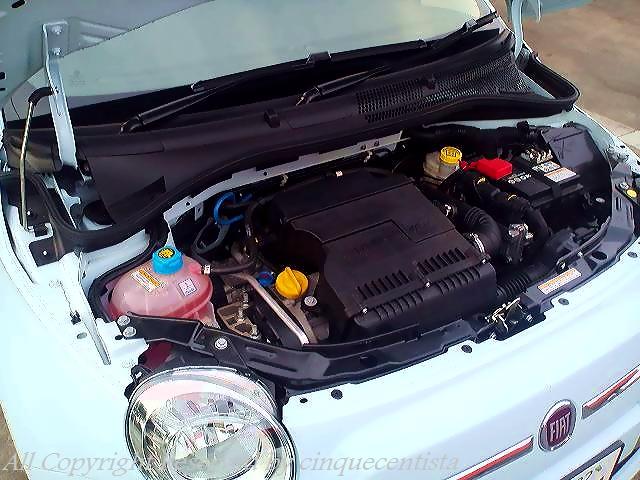 新型フィアット500 1.4(1400cc)