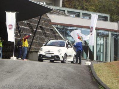 軽井沢フィアットピクニック FIAT PCNIC 2018/10/27 旧軽井沢クラブ スタート