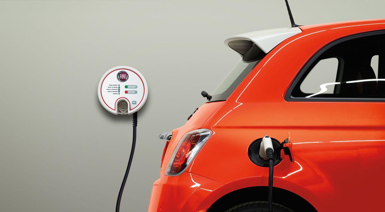 フィアット500 EV 電気自動車 500e(チンクエチェント・イー)